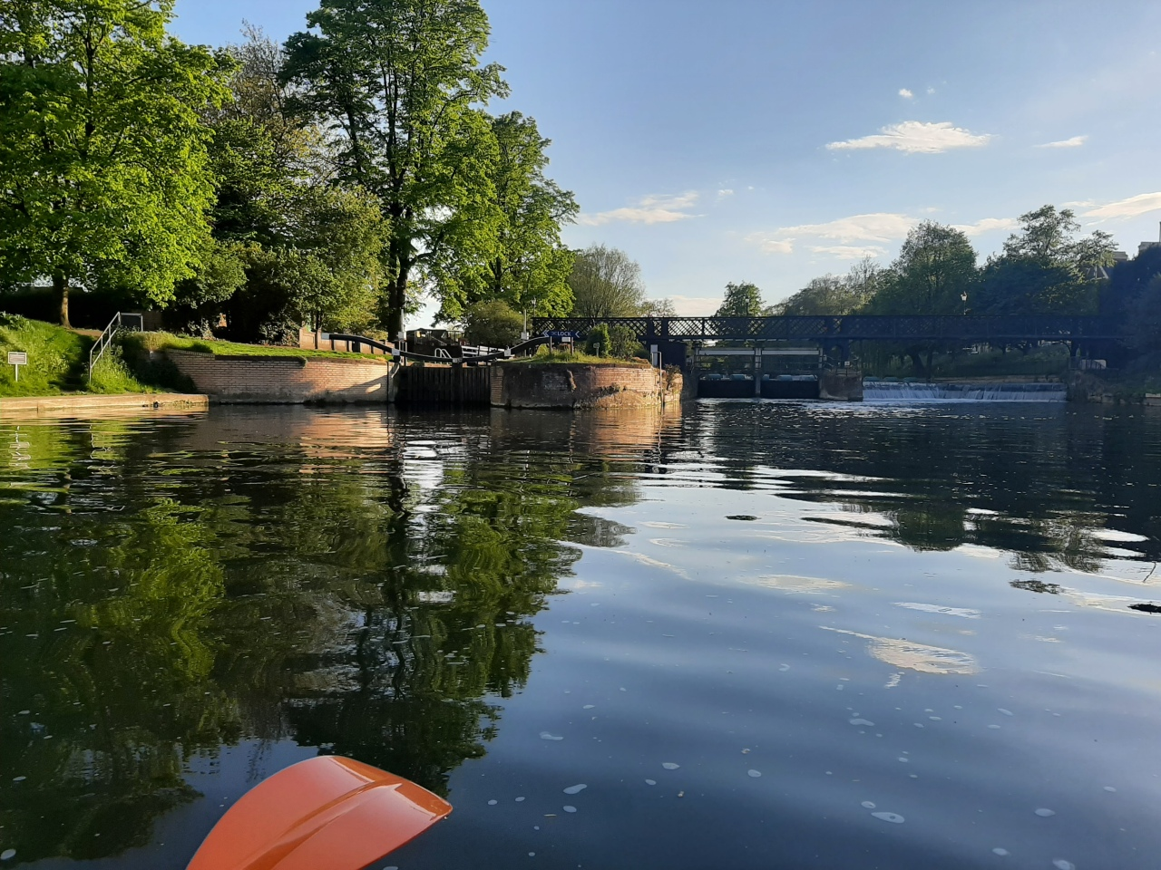 Short and relaxing paddling trips inCambridge